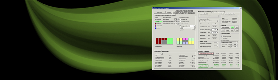 Grondwaarde berekenen via Budsys van MBM Systems